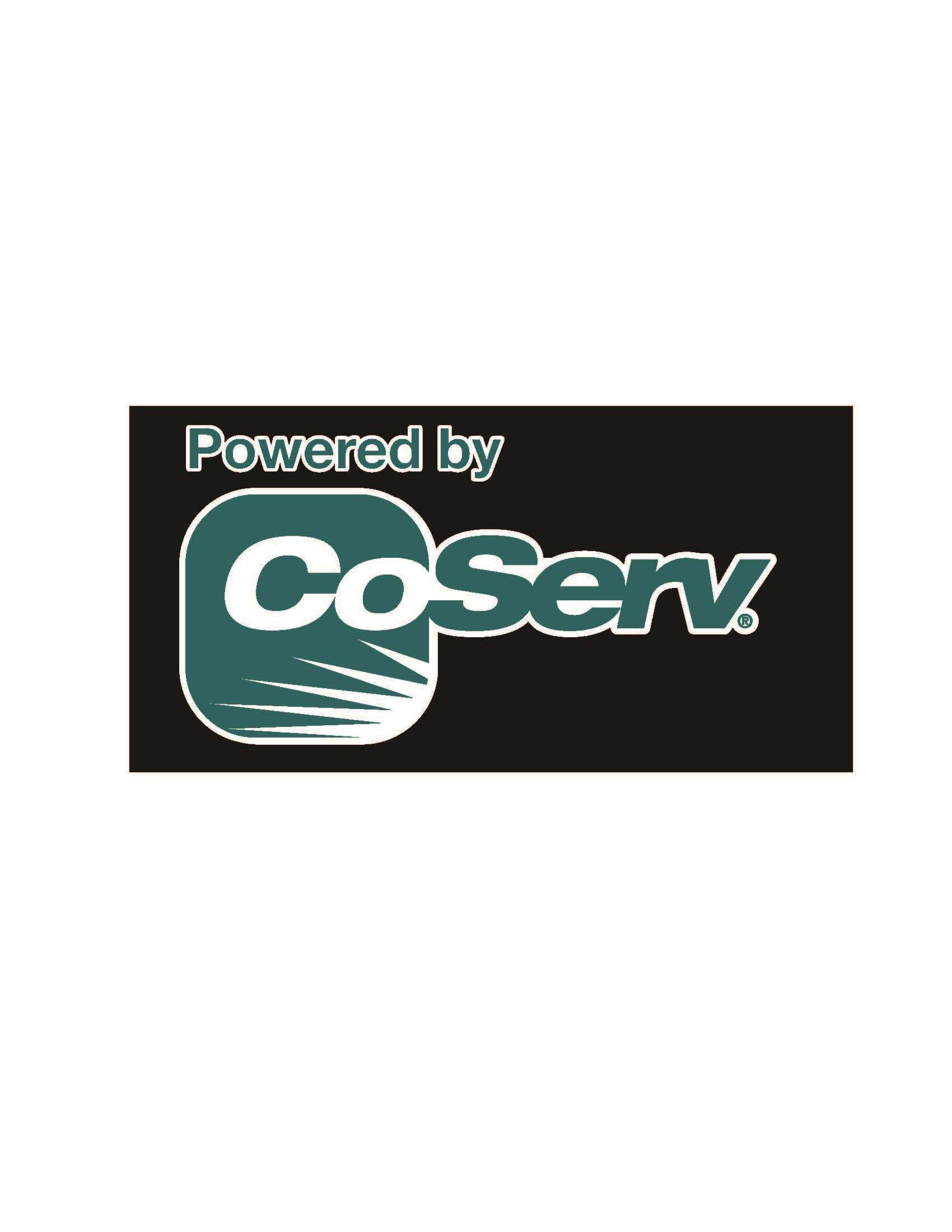 Powered by CoServ logo