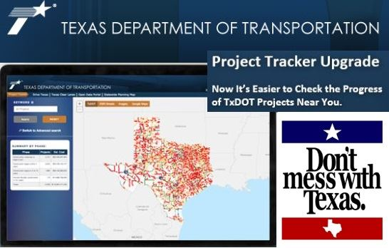 TxDot Project Tracker Upgrade Promo