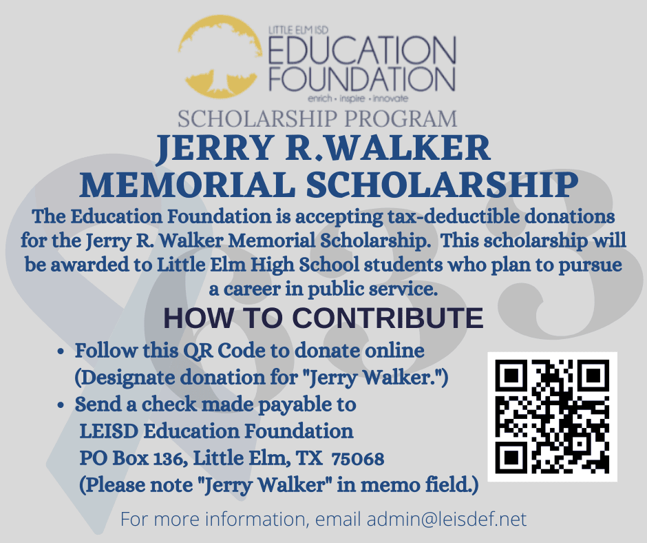 thumbnail_Jerry R. Walker Memorial Scholarship Fund